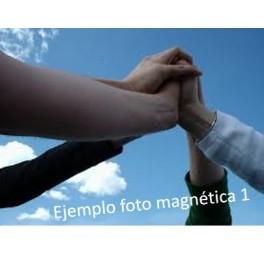 Recuerdo magnetico actividad empresa fotografía DINA4