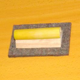 Borrador pizarra madera (caña vegetal natural)