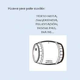 MASCOTAS: Placas siluetas pizarra borrable para collar
