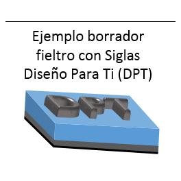 BORRADOR personalizado (3D LETRAS/NÚMEROS )