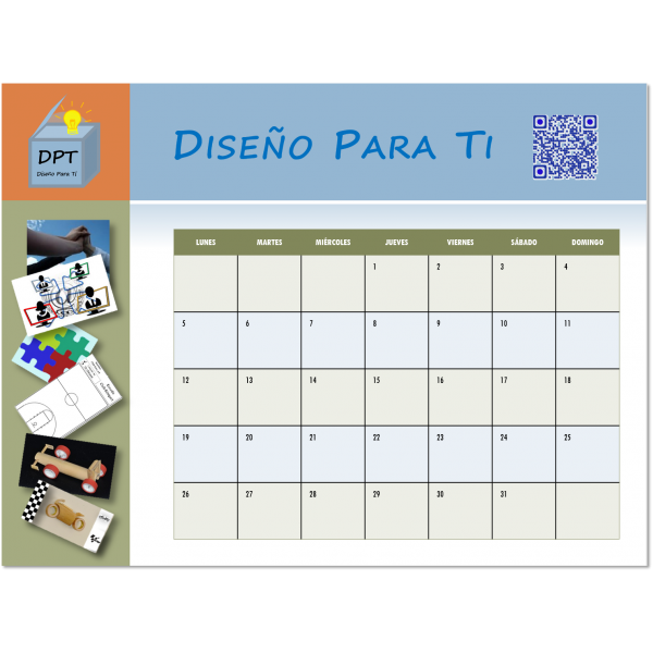 Calendario personalizado 2017 borrable magnetico iman nevera ...