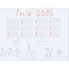 Calendario poster anual 2017 personalizado