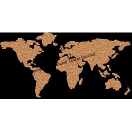 Mapas Siluetas personalizadas + 6 pins lugares