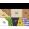 Puzle táctil adaptado imán texturas y colores